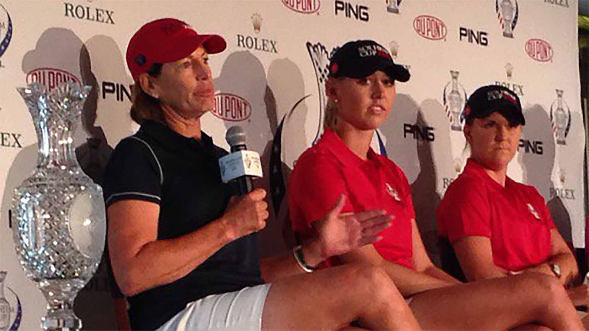 Inkster, Korda, Ernst Attend Solheim Cup Media Day
