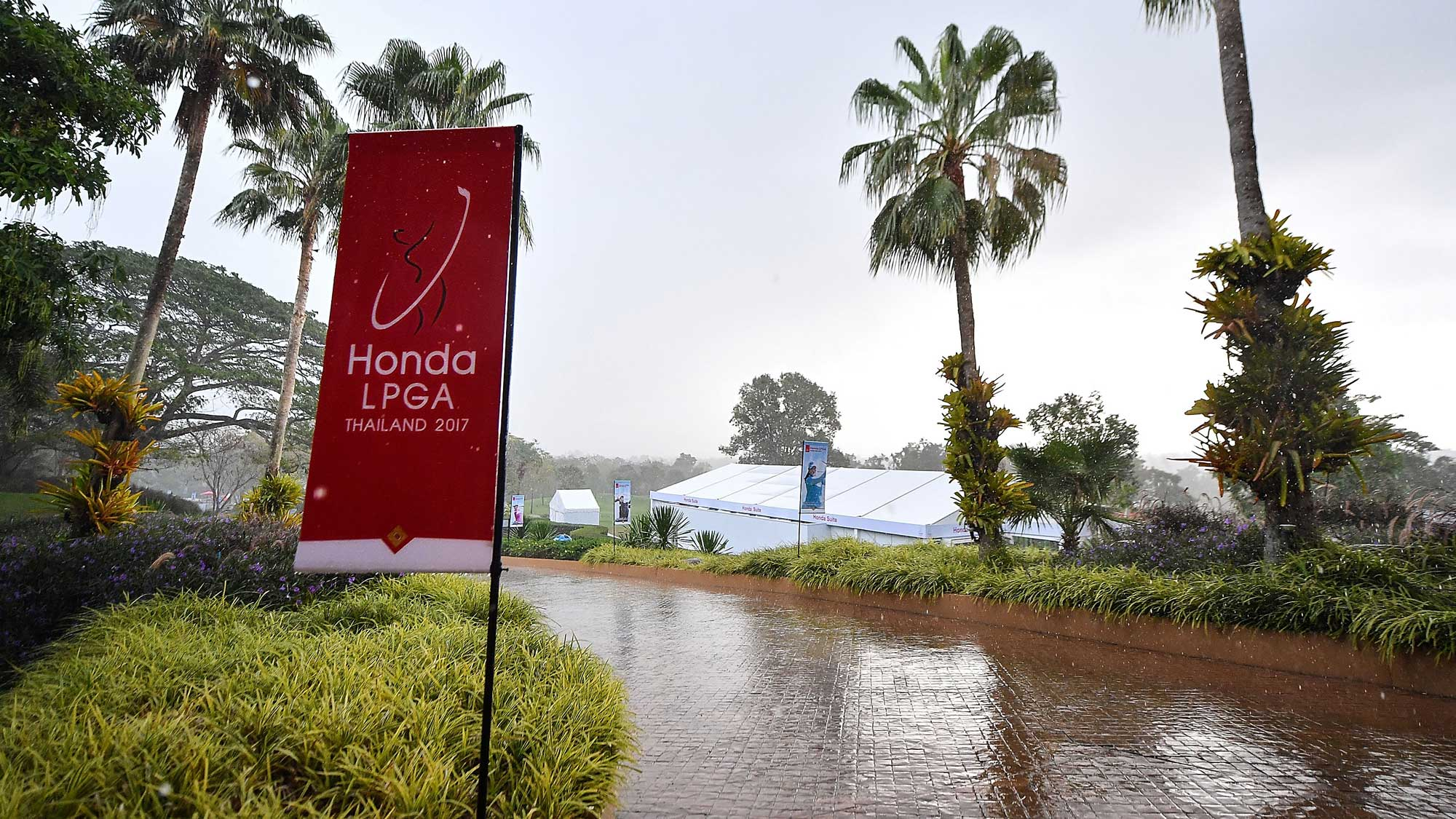 Honda LPGA Thailand Second Round Partial Recap