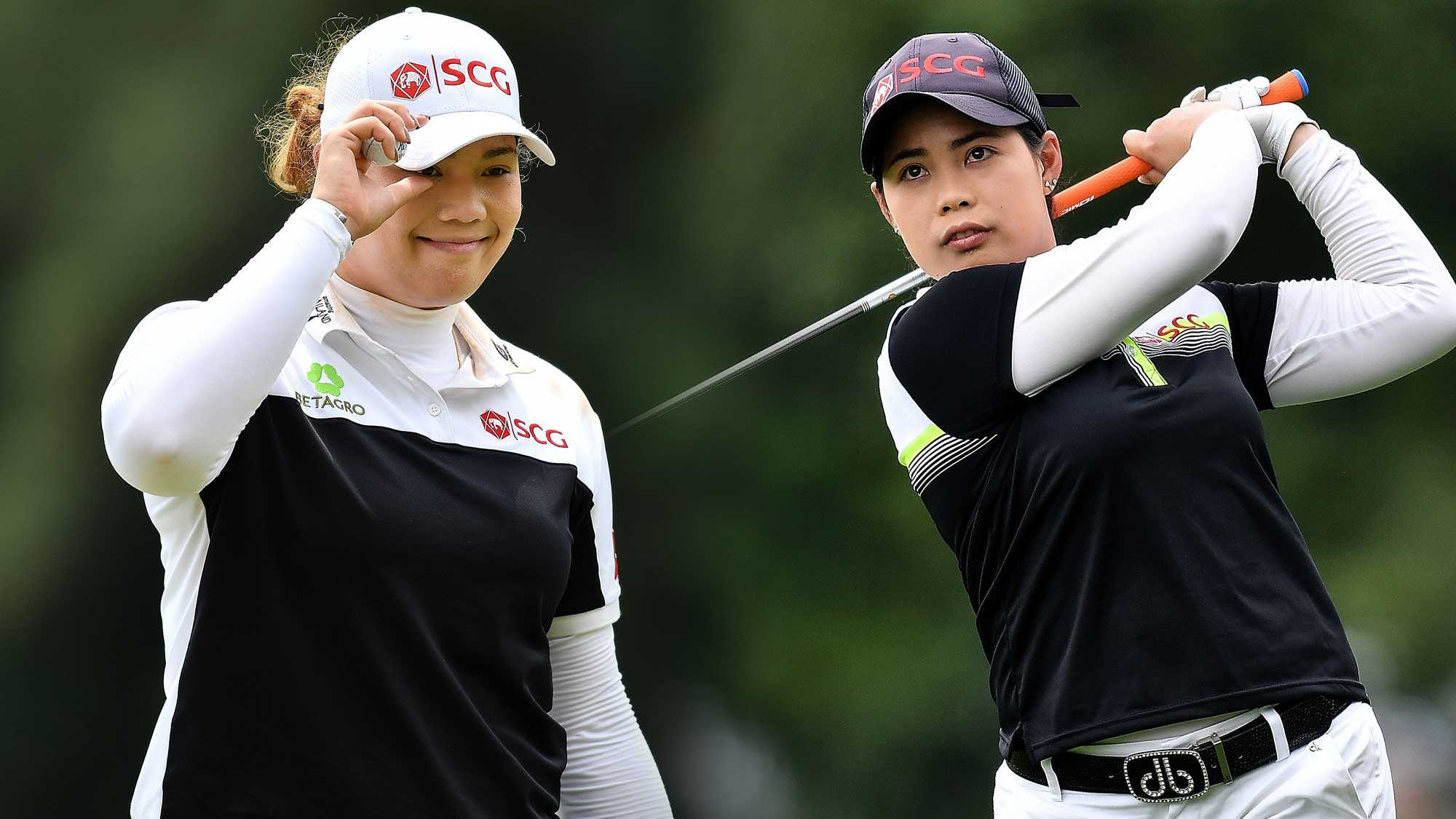 Jutanugarn Sisters Finish Top-10 in Thailand