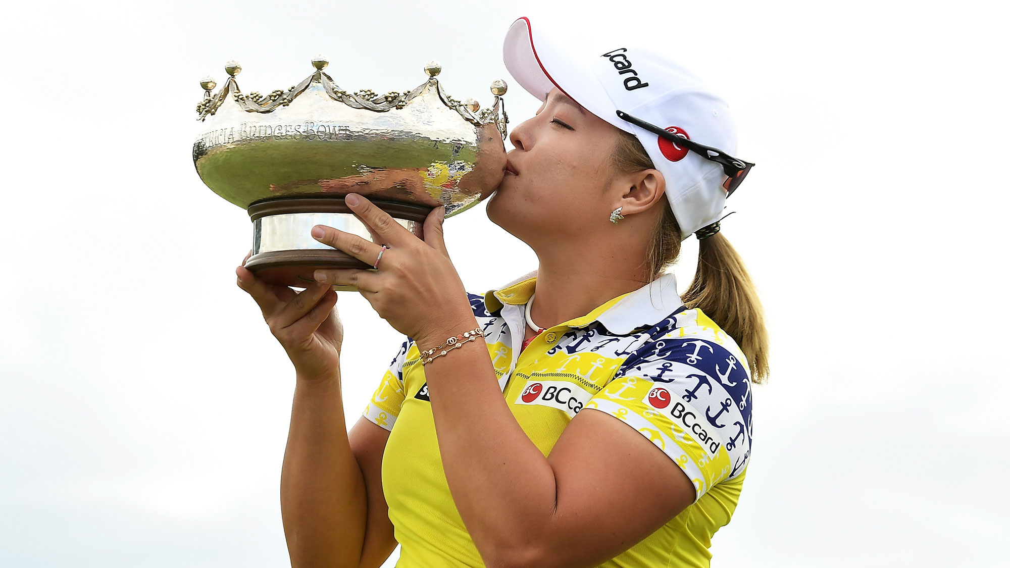 In the Winner's Circle: Ha Na Jang wins the ISPS Handa Women's Australian Open