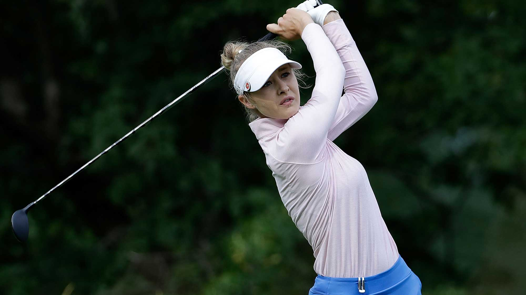 Nelly Korda Boosts Solheim Selection Chances