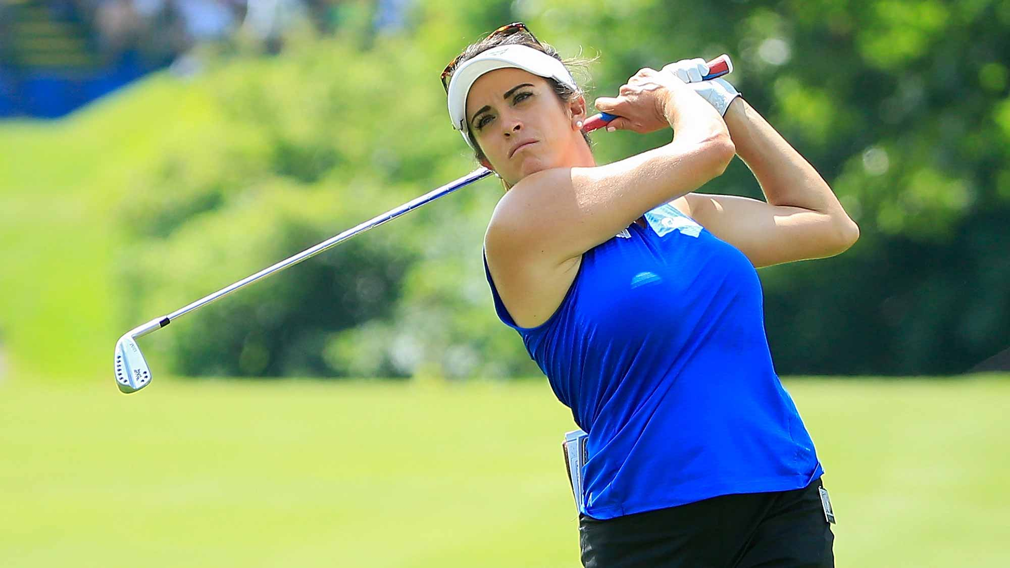 Patience Helps Piller Maintain Lead at Marathon Classic