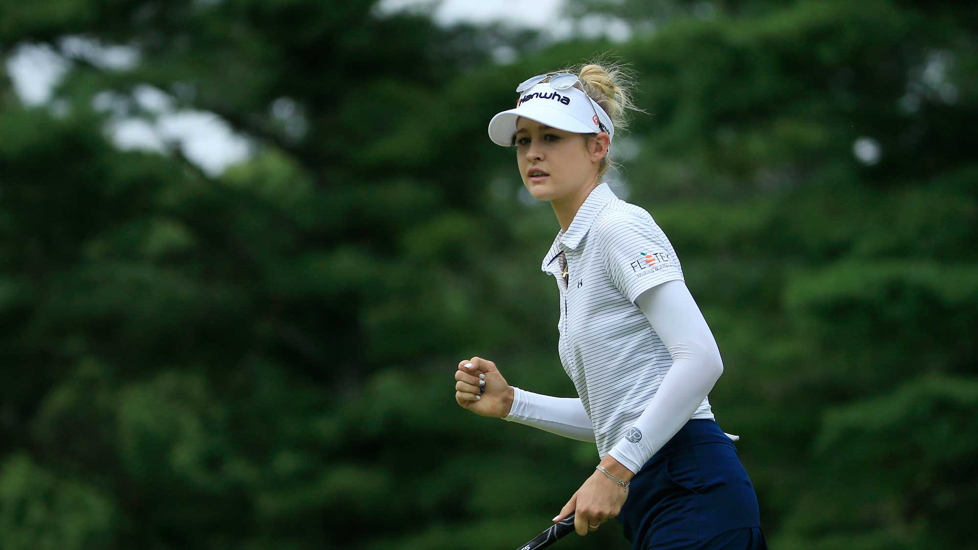Nelly Korda Sleeps on 54-Hole Lead in Toledo