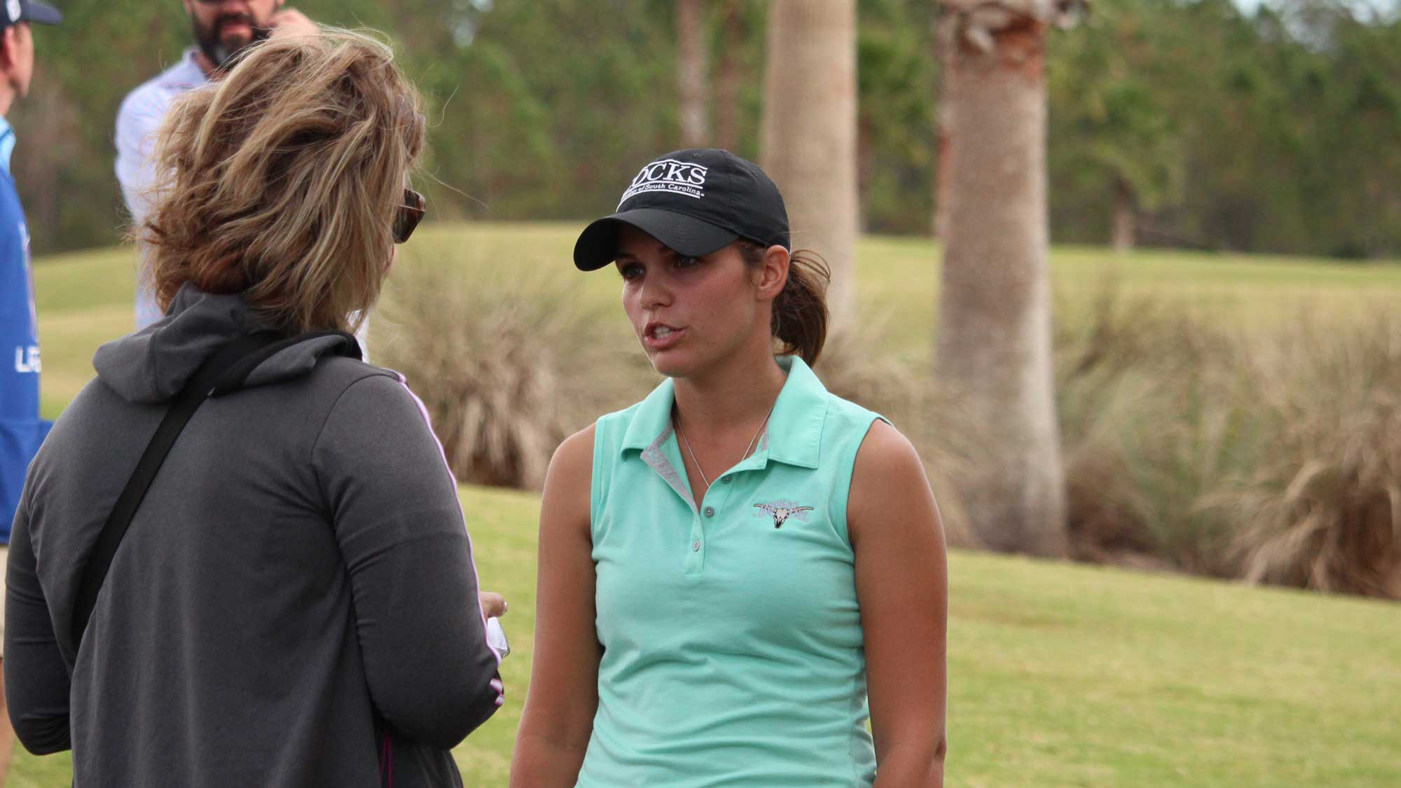 South Carolina Amateur and Thailand Teen Share Lead at LPGA Qualifying Tournament