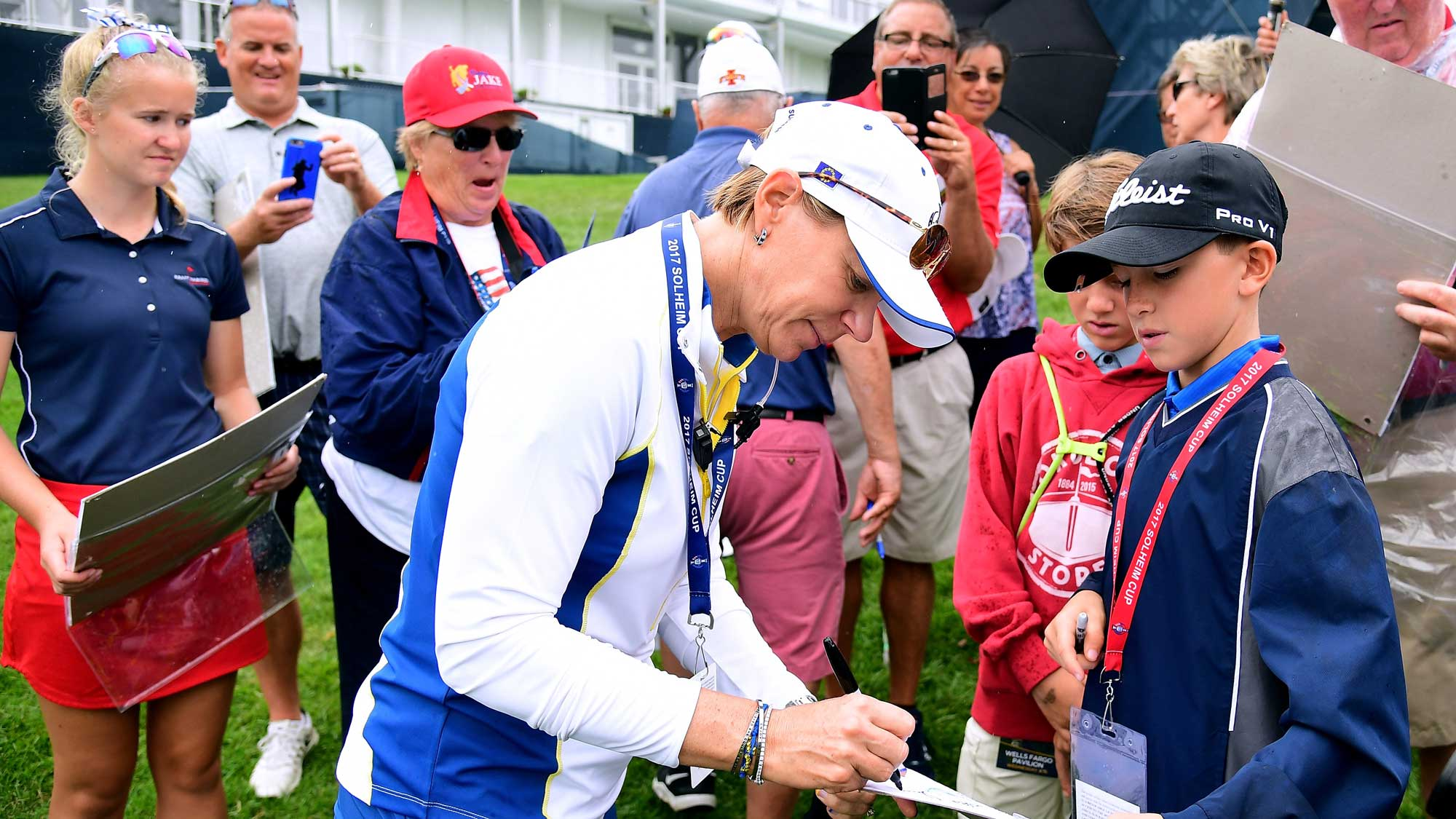 Sorenstam Ready to Lead, Tight Bond Within Team USA